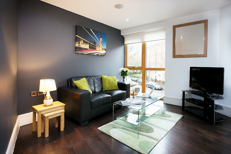 Clerkenwell One living room