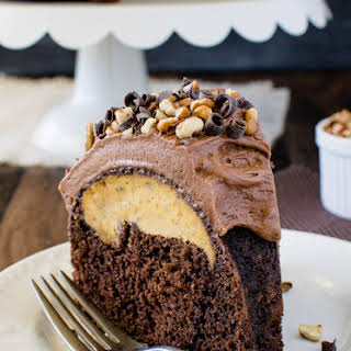 Chocolate Pumpkin Cheesecake Bundt Cake.