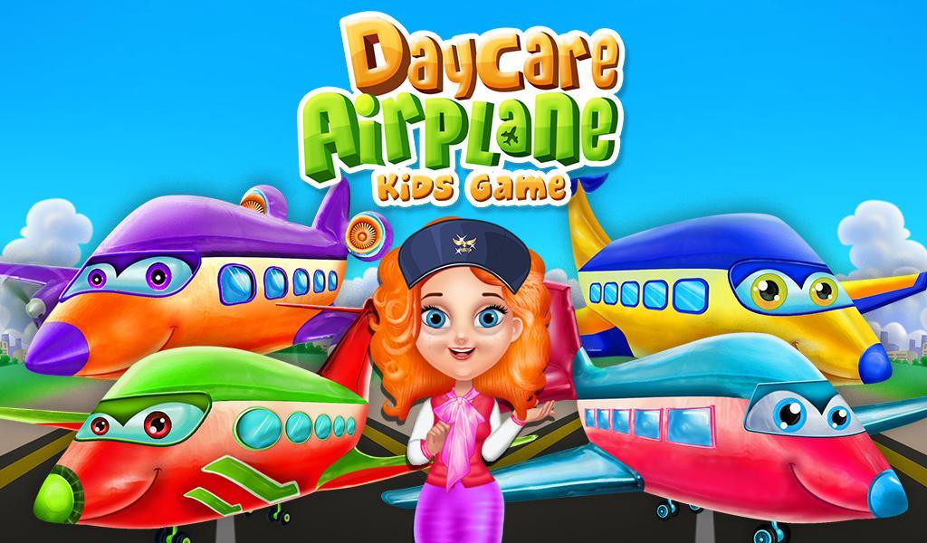 daycare airplane kids game screenshot