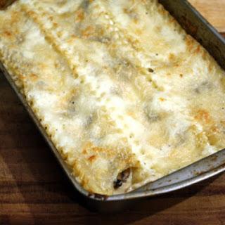 Mushroom Lasagna.