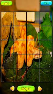 Snake Puzzle hry - náhled