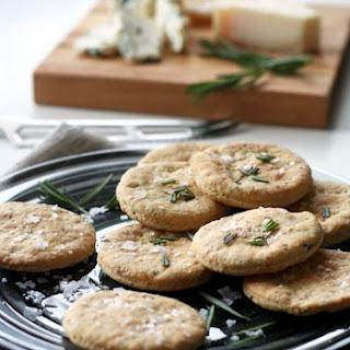 { Rosemary Crackers } Recipe