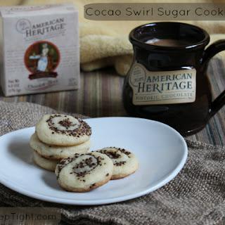 Cocoa Swirl Sugar Cookies.