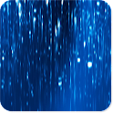 Glowing Rain Wallpaper PRO icon