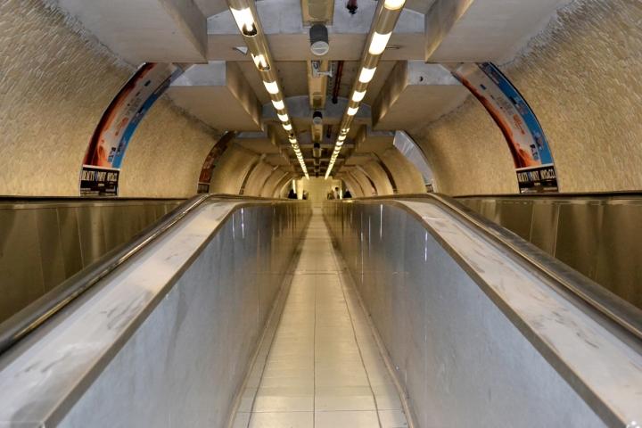 Le gallerie della metro di Roma... di utente cancellato