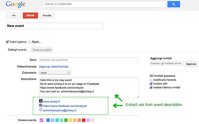 Calendar + for Google Chrome™