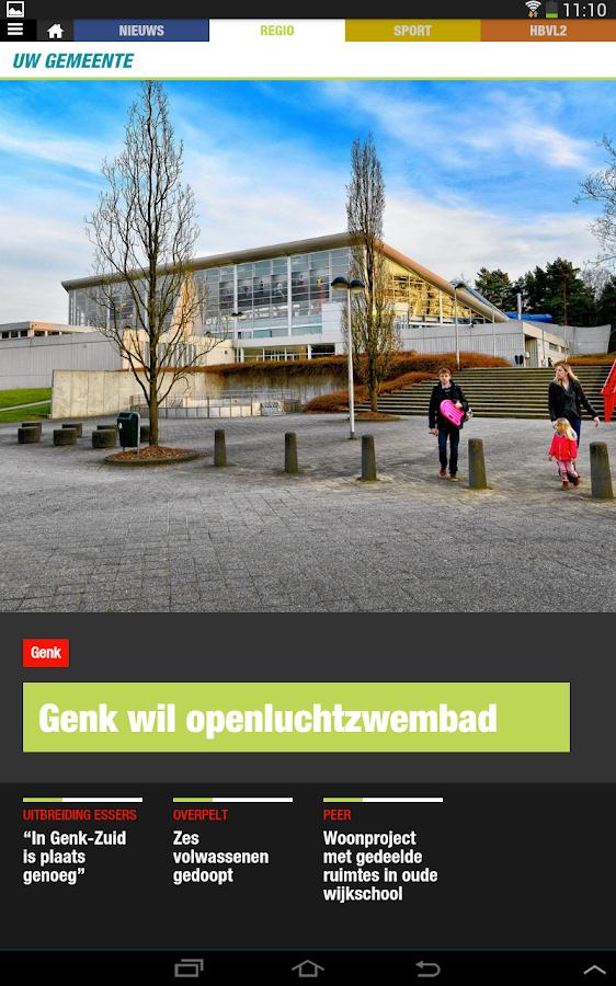 Het Belang van Limburg - screenshot