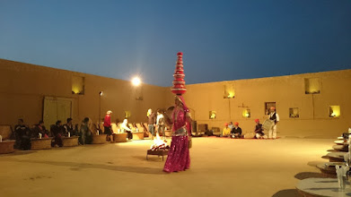 Photo: fakir + dancing show, jaisalmer