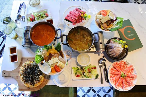 鳳樲二 dear she 鍋物語:優雅質感用餐空間.日本A5和牛太讚啦.多款自熬湯頭【台南北區美食】