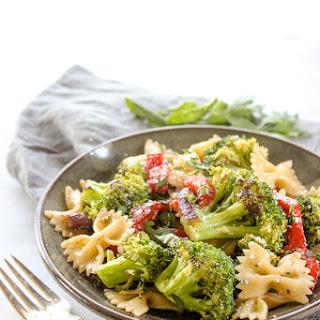 Roasted Broccoli Summer Pasta Salad.