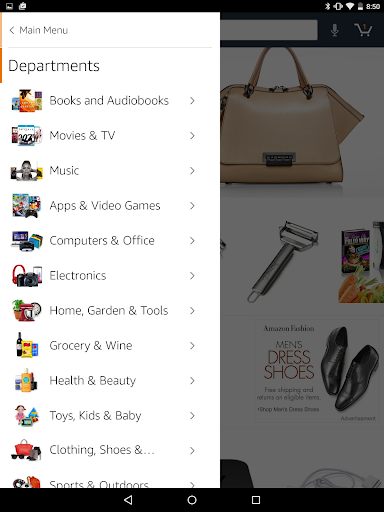 Amazon for Tablets 18.5.0.850 screenshots 2