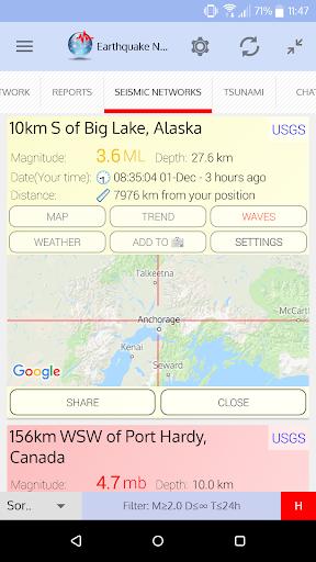🚨 Earthquake Network screenshot 3