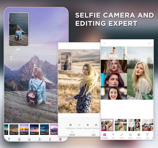 Selfie Camera and Editing Expert screenshots 1