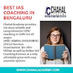 Best IAS Coaching in BENGALURU- Chahal Academy