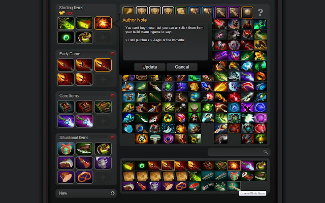 dota 2 build editor fix chrome web store