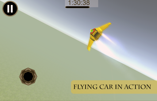Futur Flying Car Racing