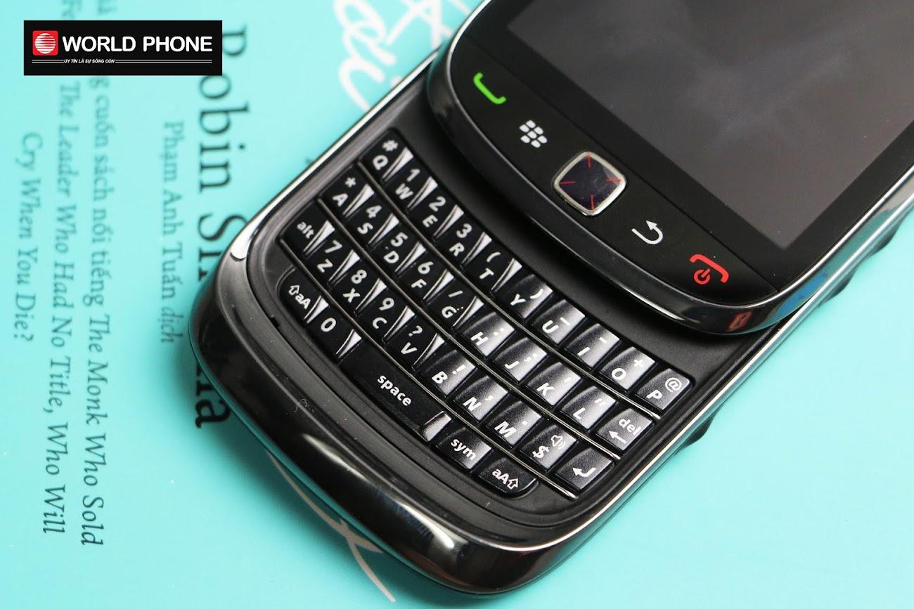Bàn phím của BlackBerry 9800