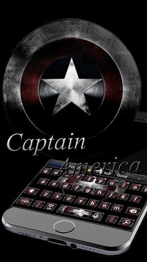 Captain America  Keyboard theme 10001002 screenshots 2