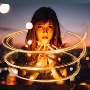 Photo Editor - Spiral Effect, Neon Light Effect