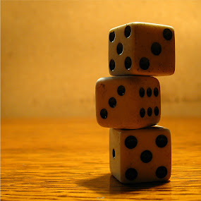 life by Ray Cloutier - Artistic Objects Other Objects ( dice. chance. fate.winning. teetering. )
