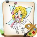 Coloring Fairies icon
