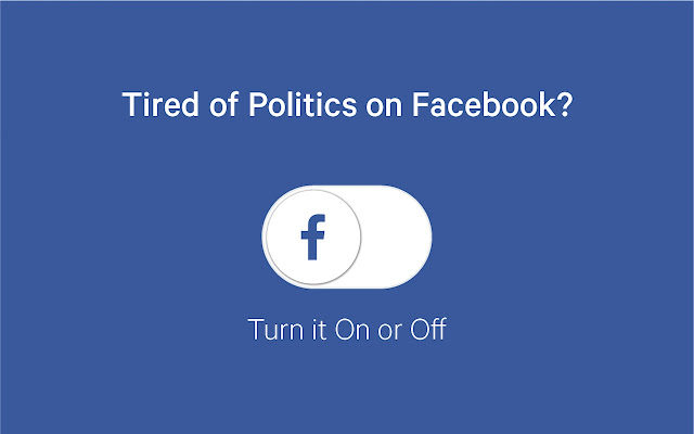 Remove All Politics From Facebook - Chrome Web Store