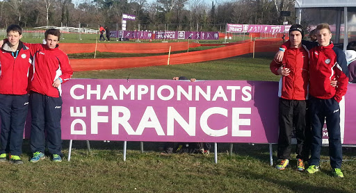 championnat de France de cross country au Pontet (Vaucluse) 2014
