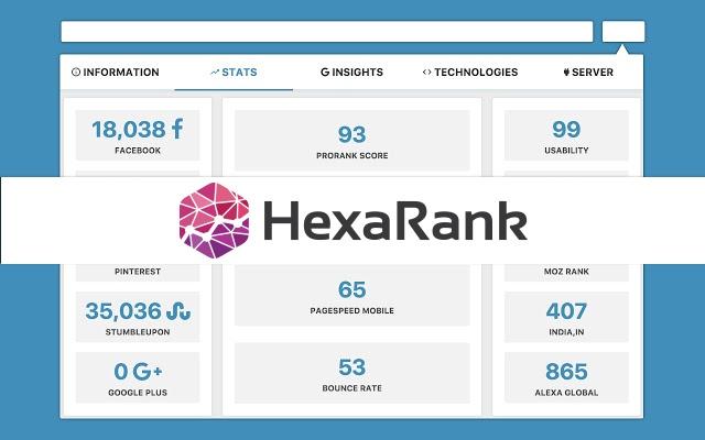 Hexa Rank by Webslogix Kuwait