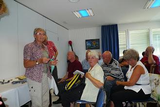 Photo: Die letzte Musikstunde im Hotel ist angesagt. Marliese gibt die letzten Anweisungen