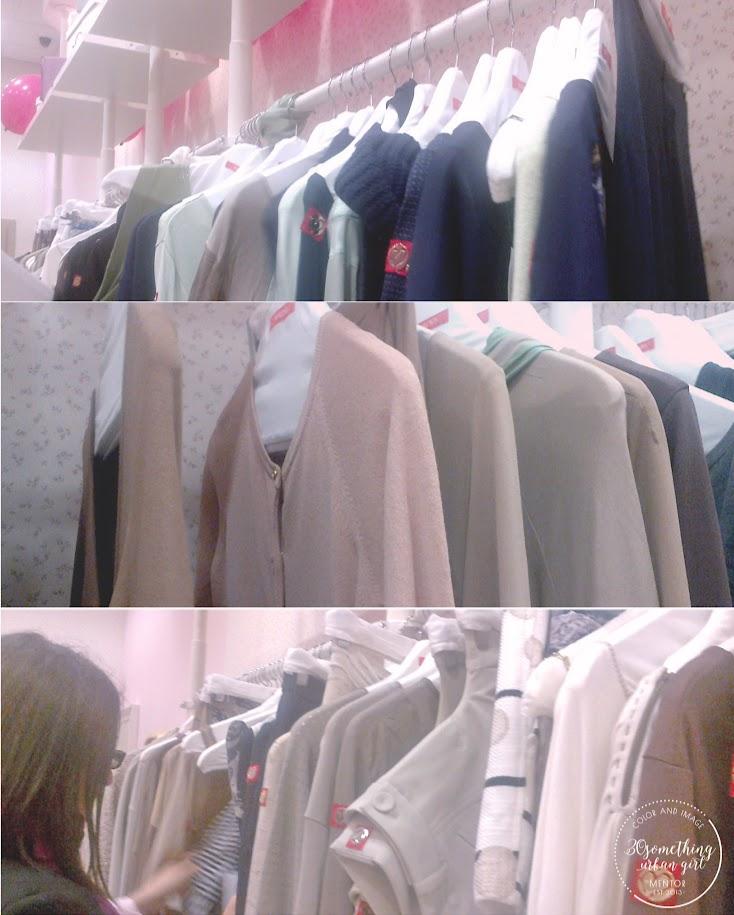 F/W clothes of MAGENTA brand