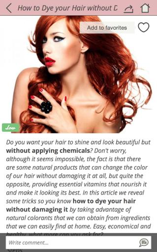 Beauty tips for skin & hair Screenshot