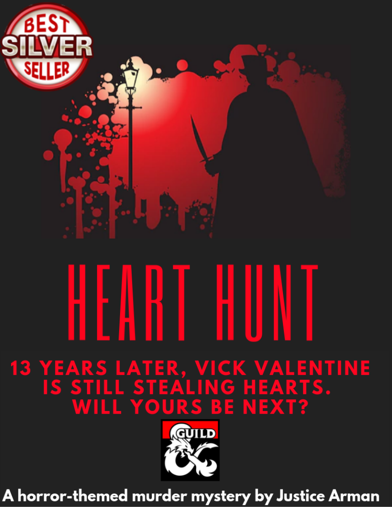 Heart Hunt - A horror-themed murder mystery for 3rd level characters