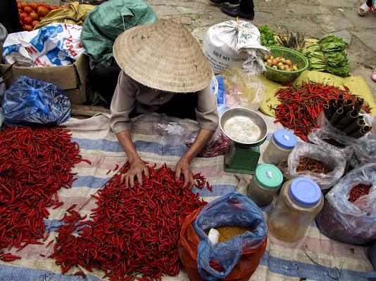 La venditrice di peperoncino di leorol