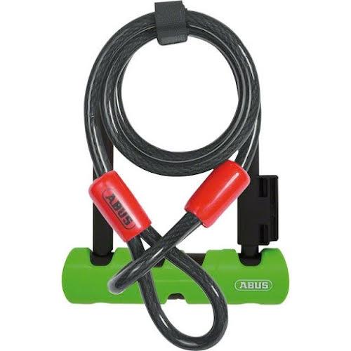 "ABUS Keyed U-Lock Ultra Mini 410 Plus Cobra Cable: 5.5"" Shackle"