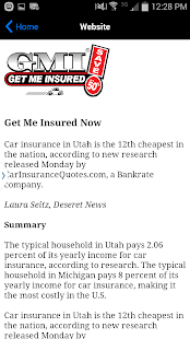 GMI Get Me Insured- screenshot thumbnail