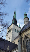 Photo: The spire of the Church of St Olaf was originally 159 metres high, but now it is 129 metres - the highest point in Tallinn, repeatedly struck by lightning