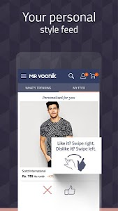 Mr Voonik -Online Shopping Men screenshot 1
