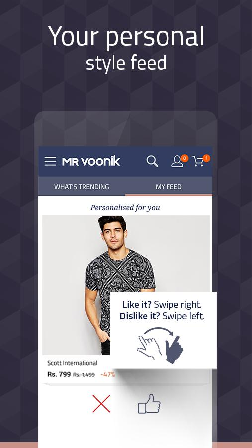 mr voonik new user offer