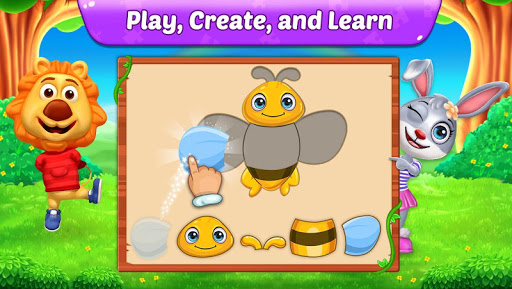 Puzzle Kids - Animals Shapes and Jigsaw Puzzles 1.0.6 screenshots 2