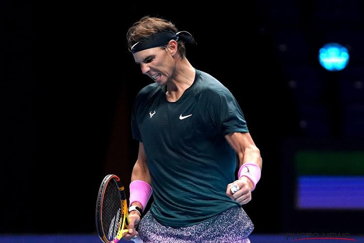Rafael Nadal blijft kampen met problemen aan de rug en is er niet bij in Miami