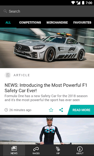 Mercedes-AMG Petronas app (apk) free download for Android/PC/Windows screenshot