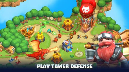 Wild Sky Tower Defense: Epic TD Legends in Kingdom apktram screenshots 17