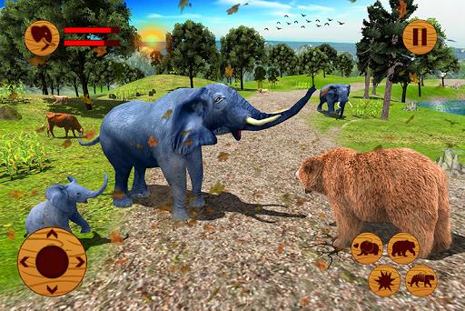 Wild Elephant Family Simulator 1.0 app download 2