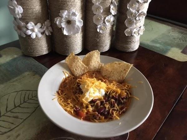 Kathy's Taco Soup Recipe