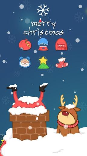 圣诞节圣诞老人主题(圣诞快乐,新年快乐)