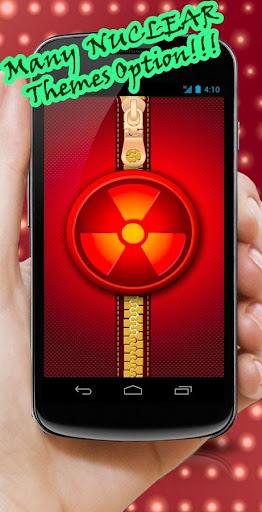 Nuclear Zipper Lock Screen