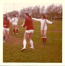 Photo: H.M.S.H. Dames ? seizoen 1973 - 1974