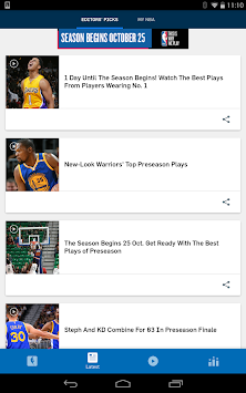 NBA додаток APK screenshot thumbnail 12