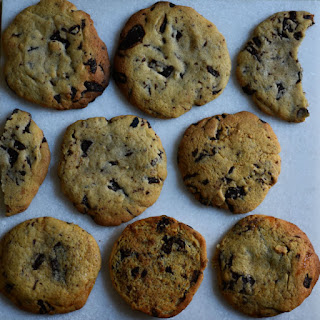 Peanut Butter or Caramel Chocolate Chip Cookies.