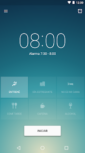Sleep Better Reloj despertador, alarma inteligente Screenshot